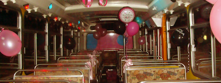 Birthday Party Bus Hire Perth